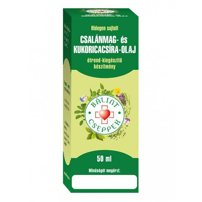 Bálint Cseppek csalánmag+kukoricacsíra-olaj - 50 ml