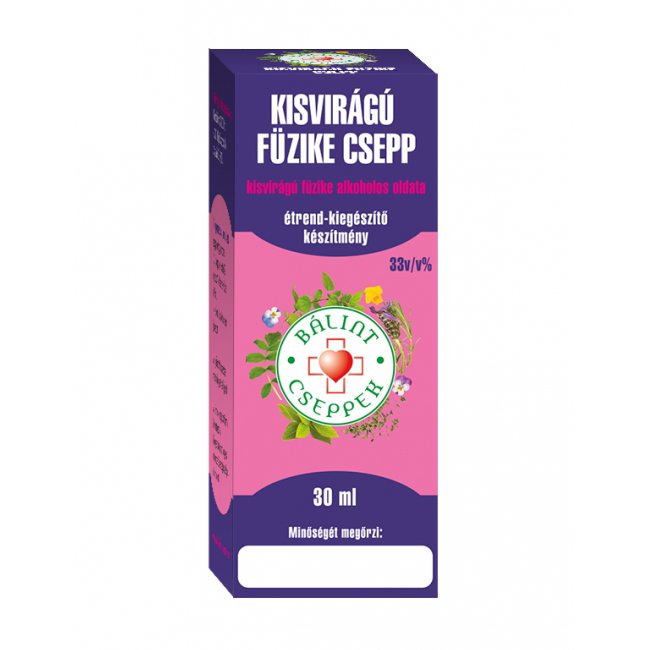 Bálint Cseppek kisvirágú füzike cseppek - 30 ml