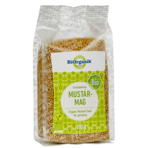 Biorganik bio mustár mag - 200g