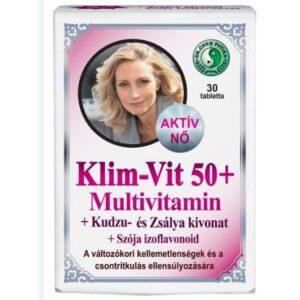 Dr. Chen Klim-Vit 50+ multivitamin nőknek kapszula - 30db