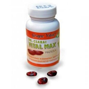 Grape Vital Max grapefruit kapszula - 90db