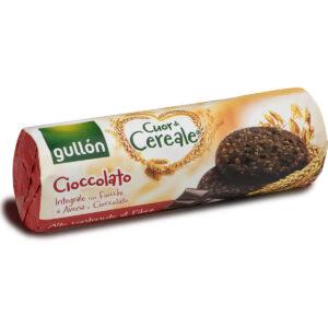 Gullón Rostban gazdag gabonakeksz csokoládé darabkákkal - 280g
