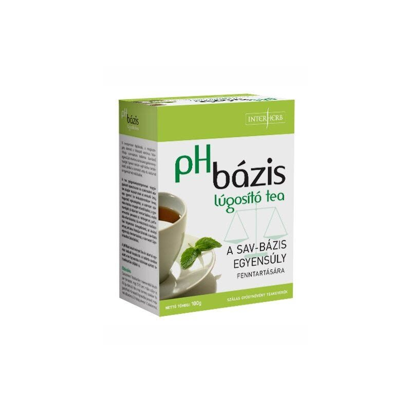 Interherb pH bázis lugosító tea - 100g