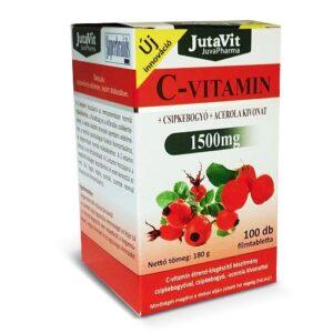 Jutavit C-vitamin 1500mg tabletta - 100db