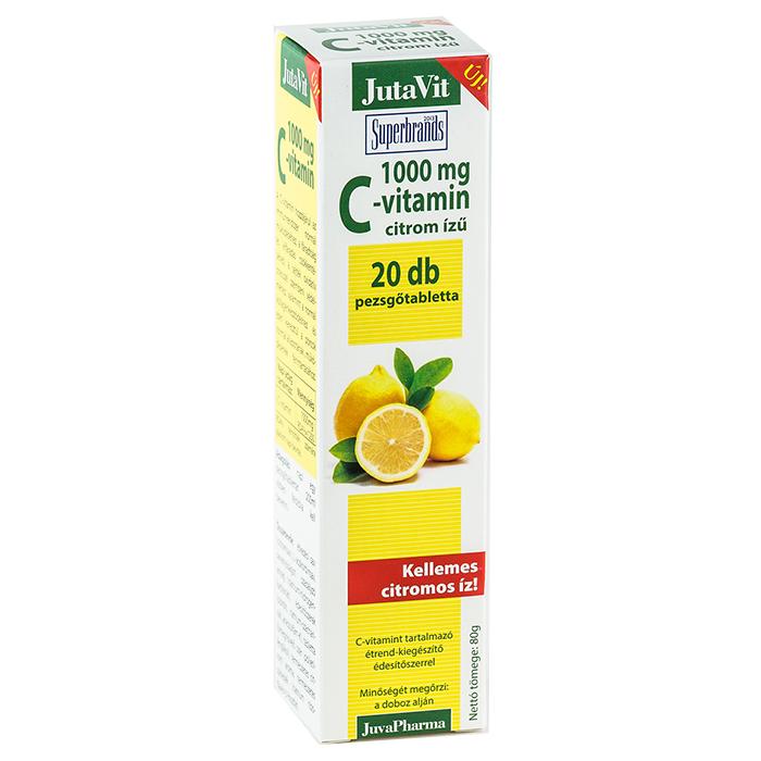 Jutavit C-vitamin pezsgőtabletta - 20db