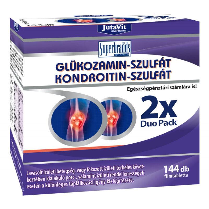 Jutavit Glükozamin+Kondroitin+MSM tabletta - 144db