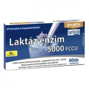 Jutavit laktáz enzim tabletta - 60db