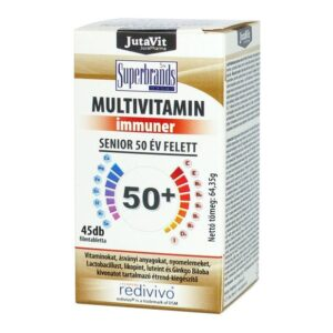 Jutavit Senior 50+ multivitamin - 45db