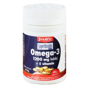 Jutavit Omega-3 + E-vitamin kapszula - 40db