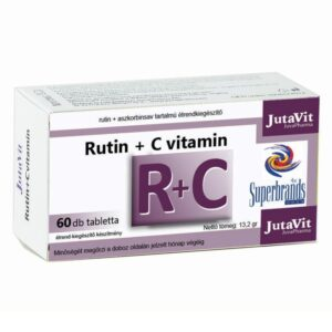 Jutavit Rutin + C-vitamin tabletta - 60db