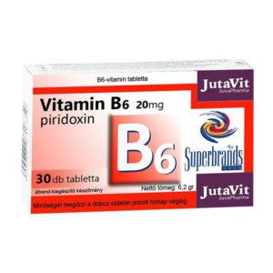 Jutavit B6-vitamin - 30 db