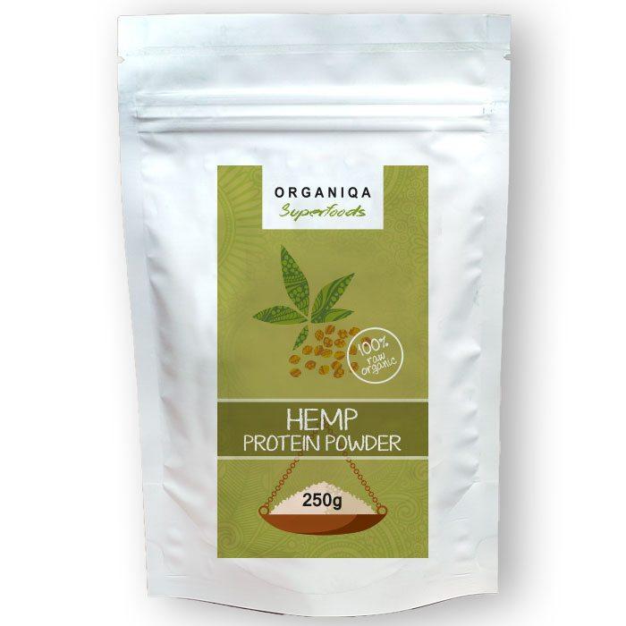 Organiqa Bio Kendermag - Hemp Protein por - 250g