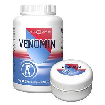 Vita Crystal Complex Venomin kapszula + Vita Crystal Complex Venomin krém - 100db + 100ml