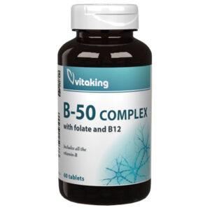 Vitaking Mega B-50 komplex tabletta - 60db