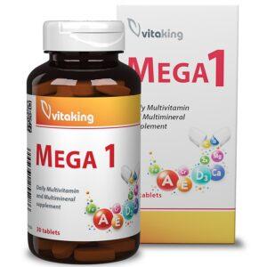 Vitaking Mega1 tabletta - 30db