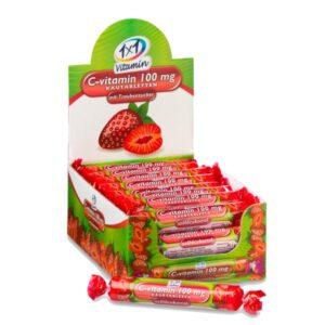 1x1 Vitaday C-vitamin epres szőlőcukor rágótabletta - 17db