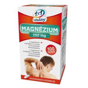 1x1 Vitamin Magnézium 250mg filmtabletta - 100 db