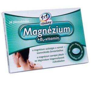1x1 Vitamin magnézium + B6-vitamin filmtabletta