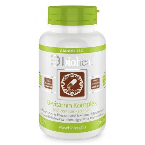Bioheal B-vitamin komplex tabletta - 70db