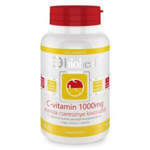 Bioheal C-vitamin + acerola tabletta - 70db