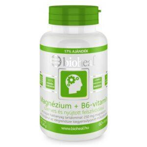 Bioheal Magnézium + B6-vitamin tabletta - 70db