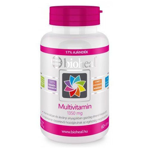 Bioheal multivitamin tabletta - 70db