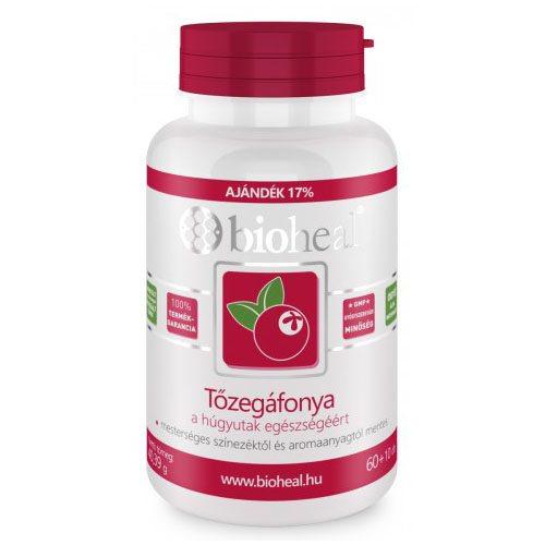 Bioheal tőzegáfonya tabletta - 70db