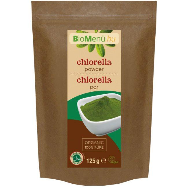 Biomenü bio chlorella por - 125g