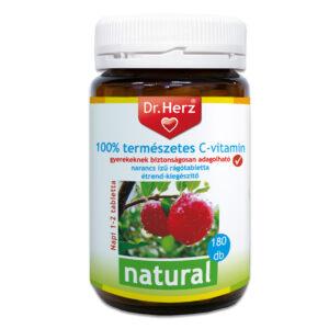 Dr. Herz 100% természetes C-vitamin Acerolából - 180db