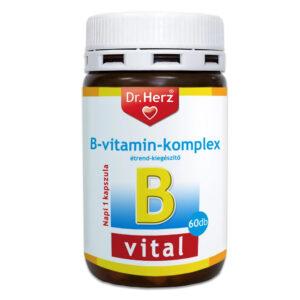 Dr. Herz B-komplex kapszula - 60db
