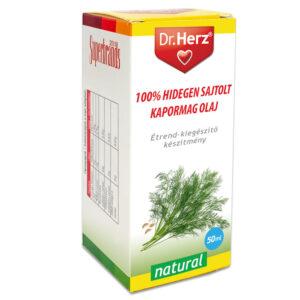 Dr. Herz Hidegen sajtolt Kapormag olaj - 50ml