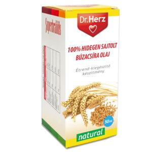Dr. Herz Hidegen sajtolt búzacsíra olaj - 50ml