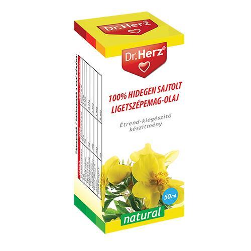Dr. Herz Hidegen sajtolt ligetszépe olaj - 50ml