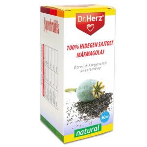Dr. Herz Hidegen sajtolt mákolaj - 50ml