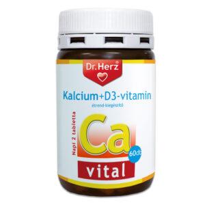 Dr. Herz Kalcium + D3 vitamin kapszula - 60db