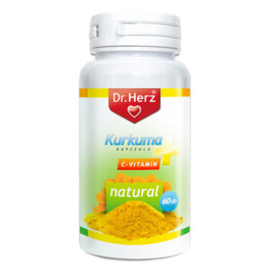 Dr. Herz kurkuma kapszula - 60db