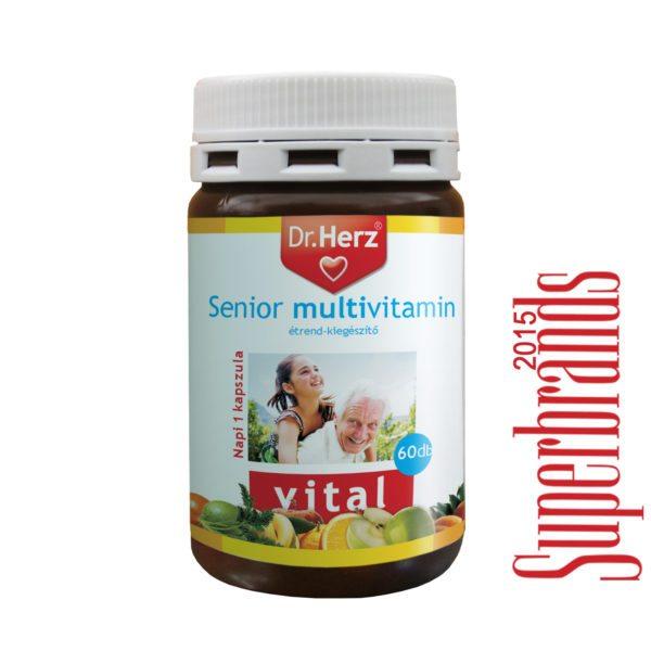 Dr. Herz Senior Multivitamin kapszula - 60db