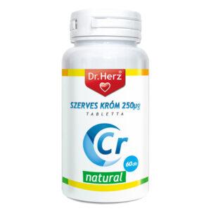 Dr. Herz Szerves Króm-pikolinát 250mcg kapszula – 60db