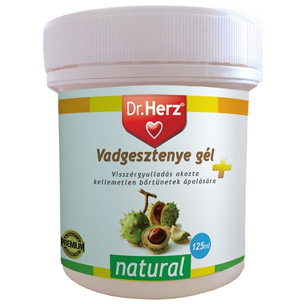 Dr. Herz Vadgesztenye gél - 125ml