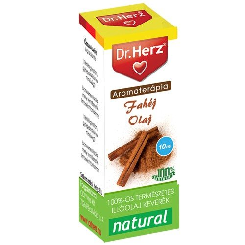 Dr. Herz Fahéj illóolaj - 10ml