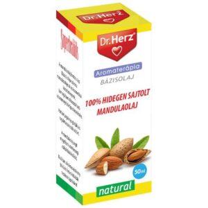 Dr. Herz Hidegen sajtolt mandulaolaj 100% cseppek - 50ml