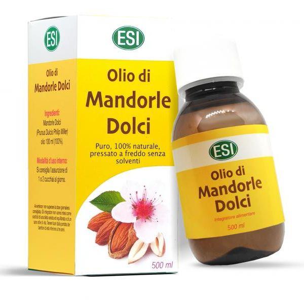 ESI 100%-os hidegen sajtolt mandula olaj - 500ml