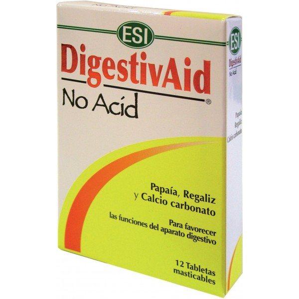 ESI Digestiv Aid - No Acid lúgosító-savlekötő tabletta - 12db