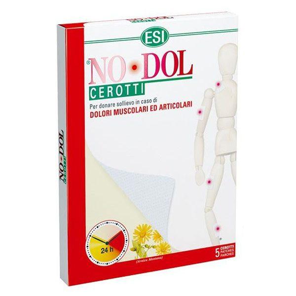 ESI No-Dol 24 órás Fájdalomcsillapító és görcsoldó hatású tapasz - 5db