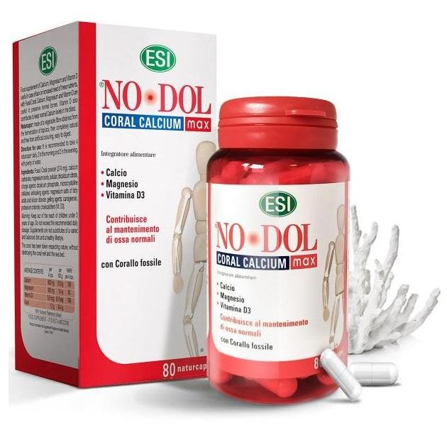 ESI korall kalcium - magnézium - D3-vitamin kapszula - 80db