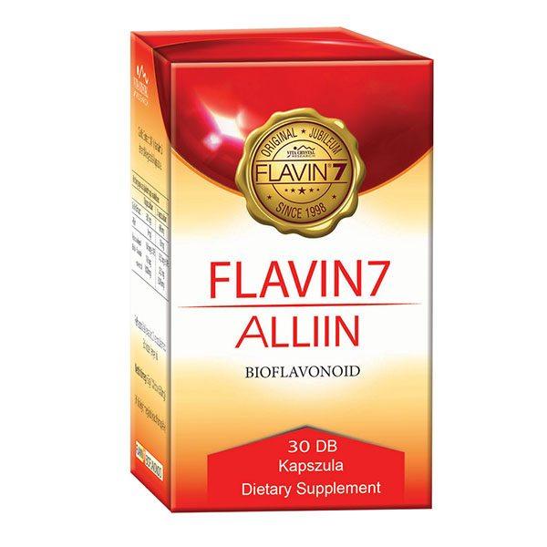 Flavin7 Alliin - bioflavonoid komplex + fokhagyma kapszula - 30db