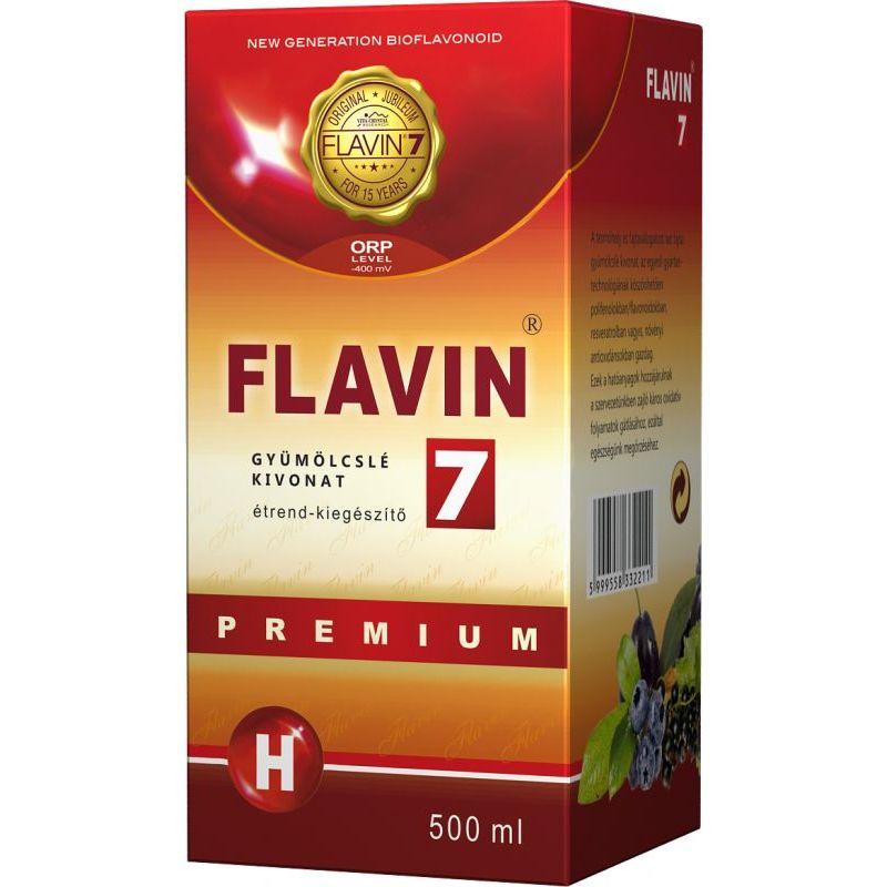 Flavin7 Prémium gyümölcslé kivonat - 500ml