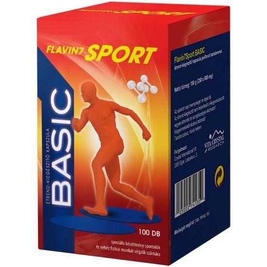 Flavin7 Sport Basic kapszula - 100db
