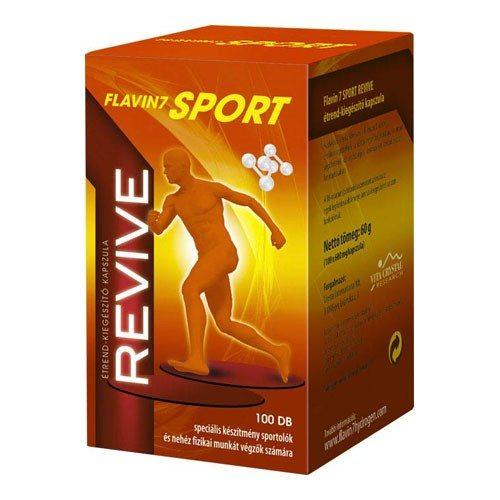 Flavin7 Sport Revive kapszula - 100db