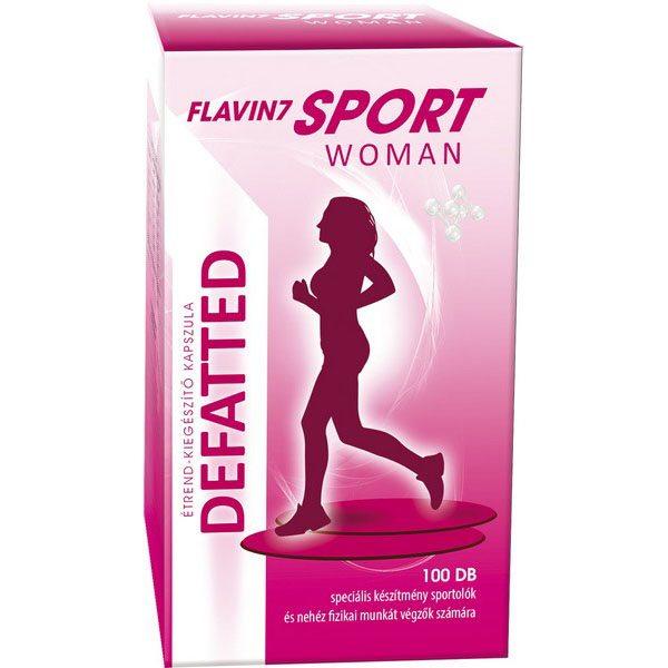 Flavin7 Sport Woman Defatted kapszula - 100db